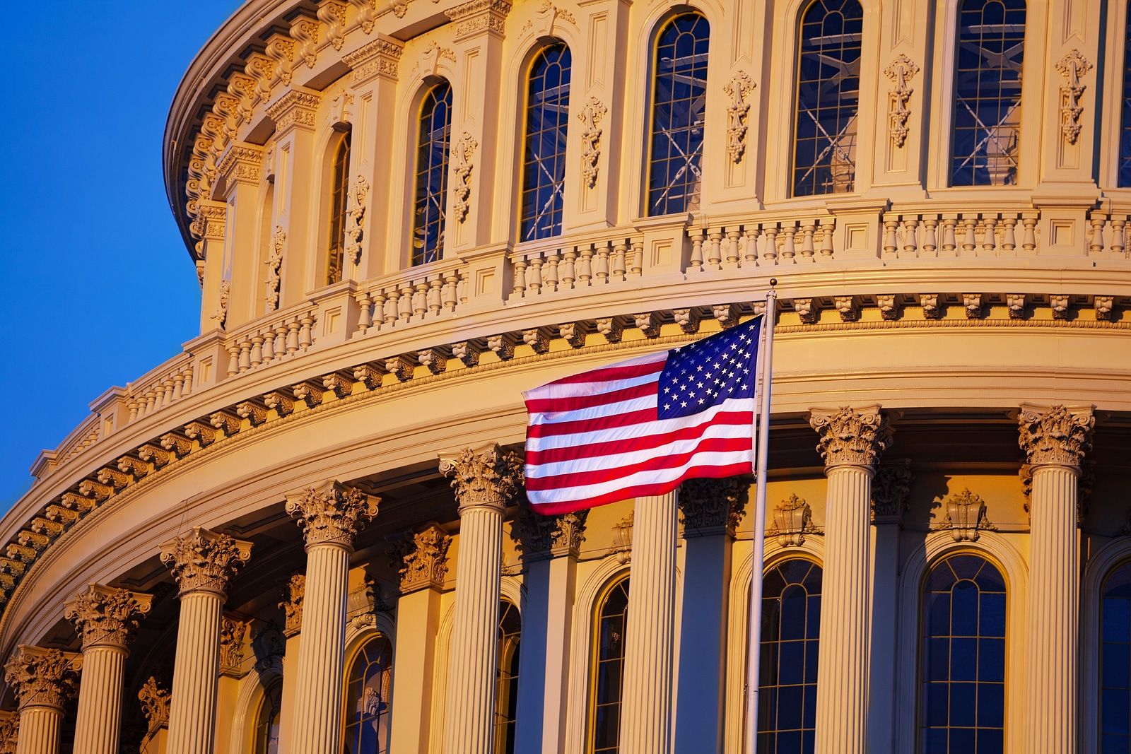 Image of the US Capital Building, where laws come from on the federal level